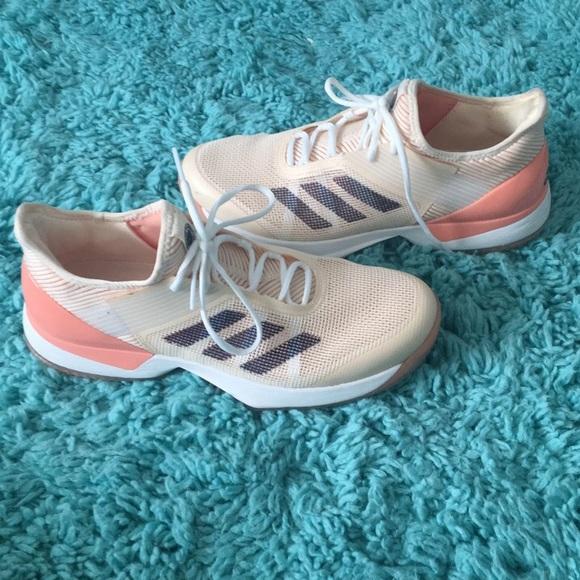 brand new 020d0 c73ee adidas Shoes - Adidas Adizero Ubersonic 3 w Clay Tennis Shoe